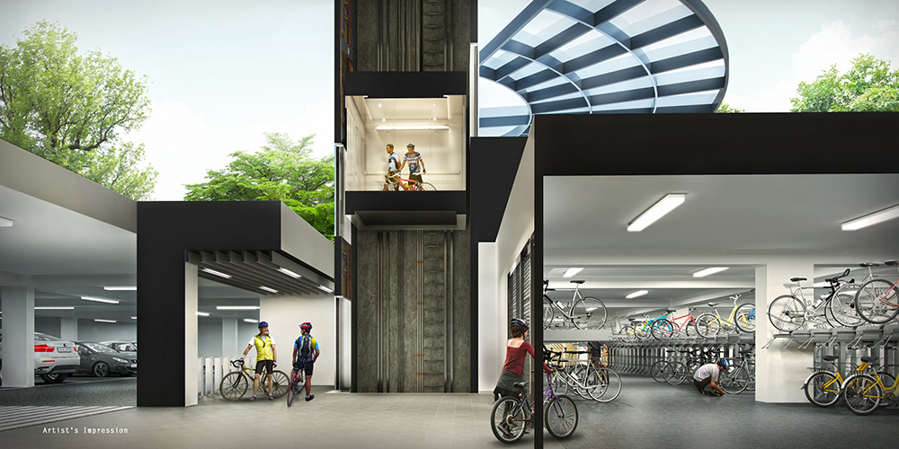 Westwood Residences Secured-Covered-Bike-Garage-(Cross-Section)_small