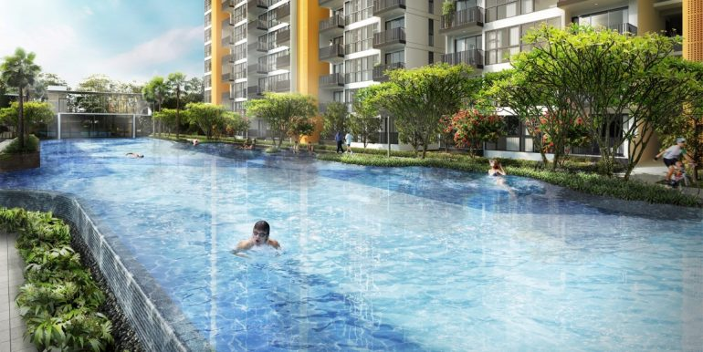 Westwood Residences 50M Lap Pool & Aqua Gym (Medium)
