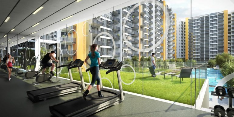 Westwood Residences Indoor Gym (Medium)