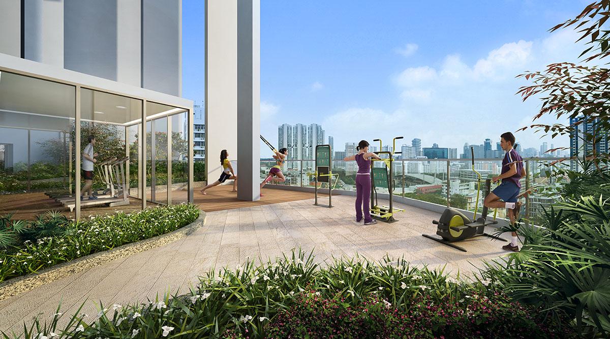 Sturdee Residences 14th storey sky garden