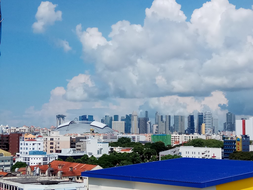 TRE Residences potential view for selected units