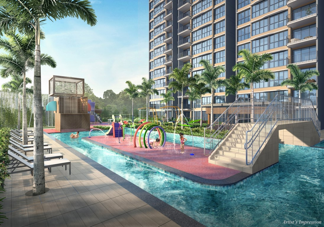 Hundred Palms Residences Kids waterplay and lazy river