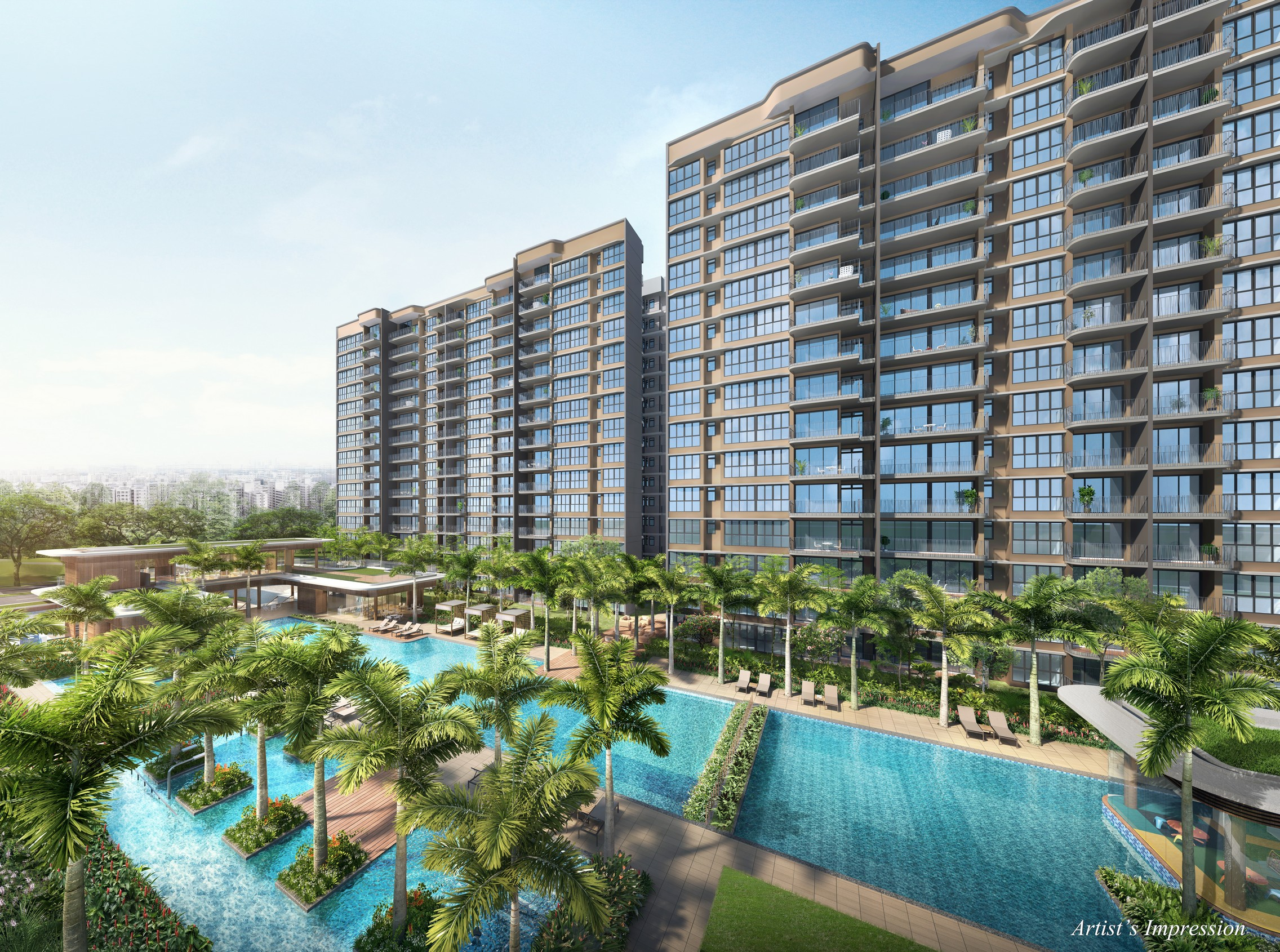 Hundred Palm Residences main pool
