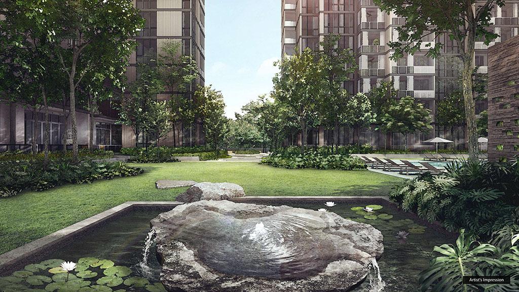 Martin Modern Garden Lawn