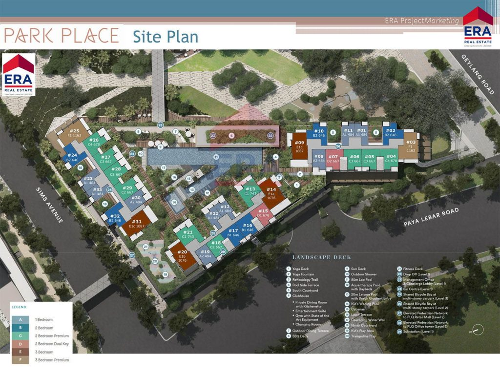 Park Place Residences Siteplan