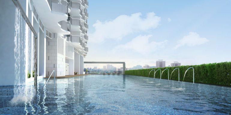 Queens Peak pool