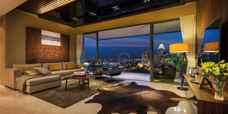 Concourse Skyline Living room