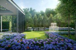 Park Colonial Flower Garden