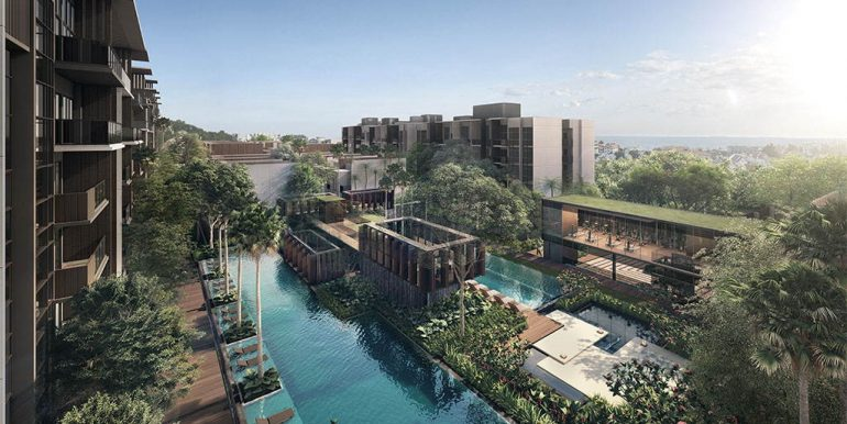 Kent Ridge Hill Residences- Pool view