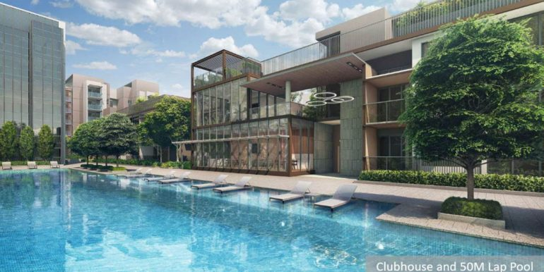 Fourth Avenue Residences Clubhouse and 50m Lap Pool