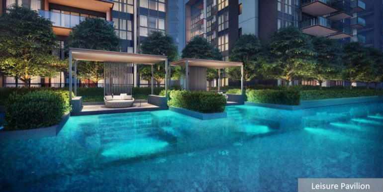 Fourth Avenue Residences Leisure Pavillion Perspective