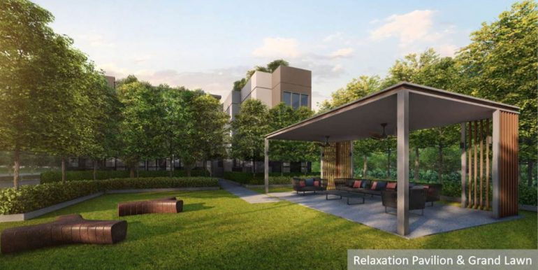 Fourth Avenue Residences Relaxation Pavilion & Grand Lawn